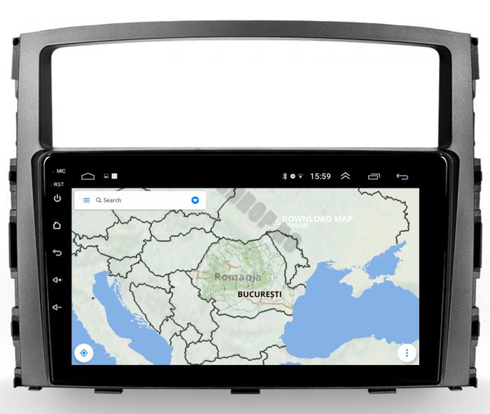 Navigatie Android Pajero 2006-2014   AutoDrop.ro [13]