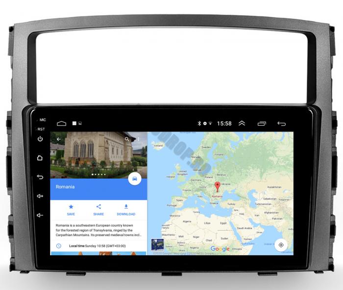 Navigatie Android Pajero 2006-2014   AutoDrop.ro [12]