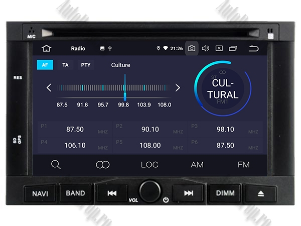 Navigatie Peugeot 3008/5008 cu Android 9 - AD-BGWPGTX008P5 3