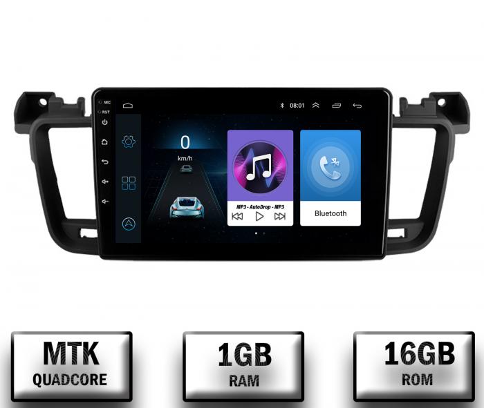 Navigatie Android Peugeot 508 2010-2018   AutoDrop.ro [0]