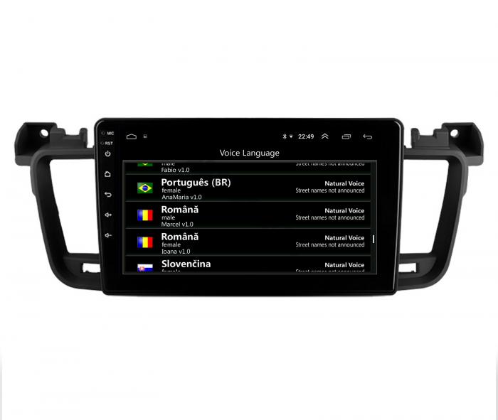 Navigatie Android Peugeot 508 2010-2018   AutoDrop.ro [8]