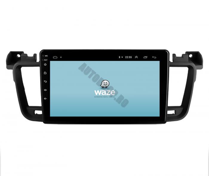 Navigatie Android Peugeot 508 2010-2018   AutoDrop.ro [12]