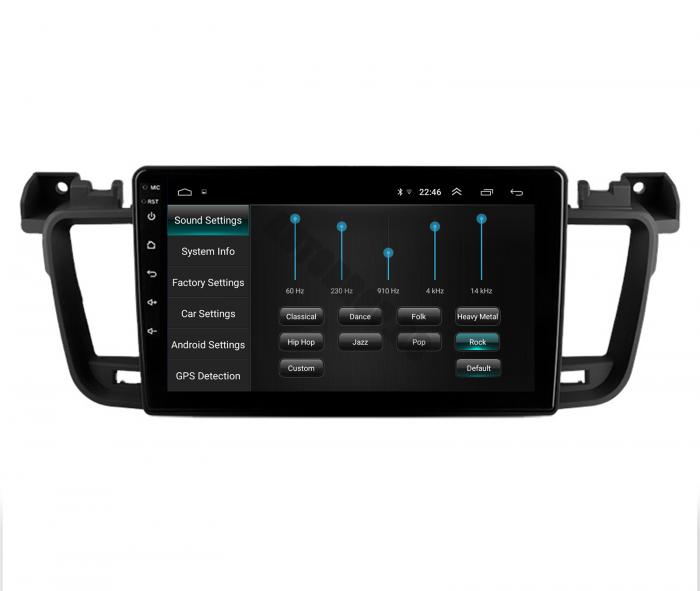 Navigatie Android Peugeot 508 2010-2018   AutoDrop.ro [6]