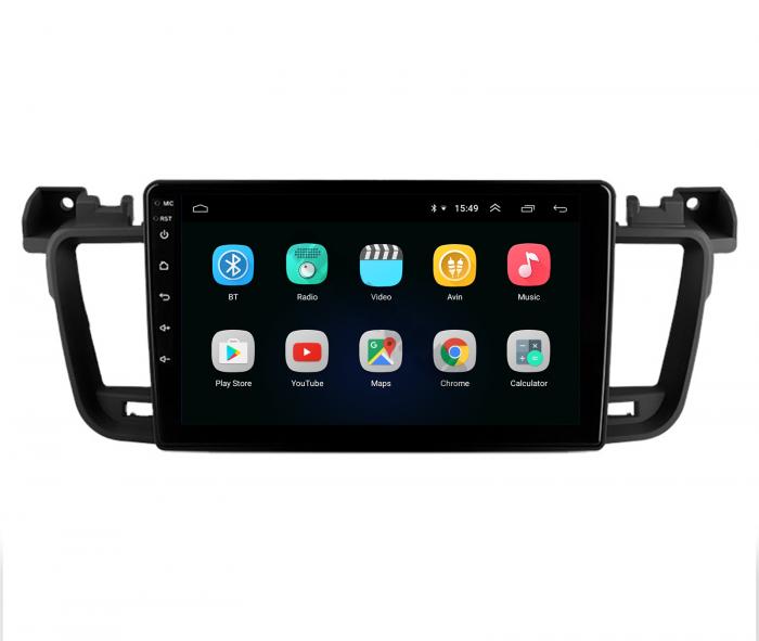 Navigatie Android Peugeot 508 2010-2018   AutoDrop.ro [2]