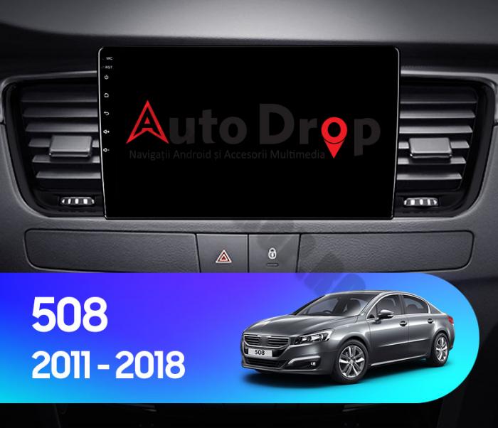 Navigatie Android Peugeot 508 2010-2018   AutoDrop.ro [15]