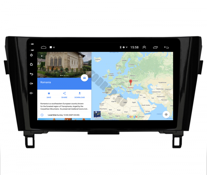 Navigatie Android Nissan Qashqai / X-trail   AutoDrop.ro [12]