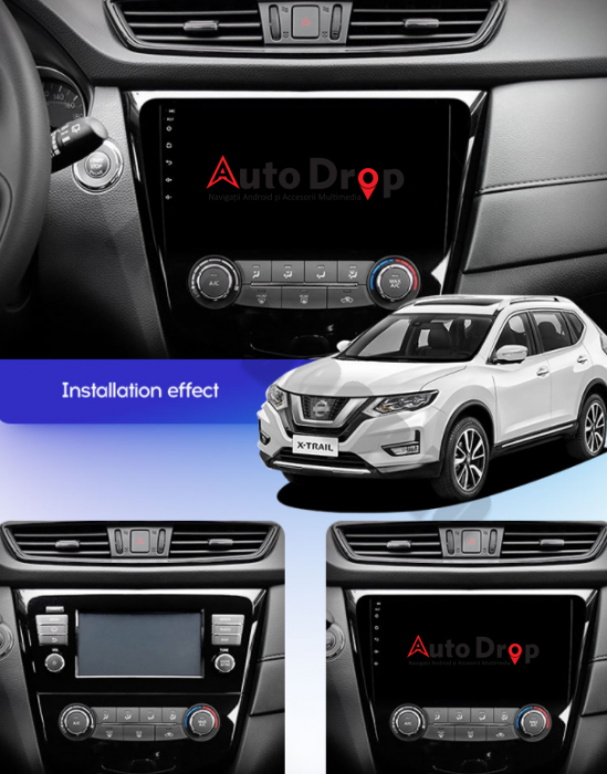 Navigatie Android Nissan Qashqai / X-trail   AutoDrop.ro [15]