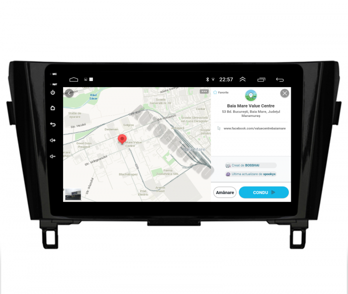 Navigatie Android Nissan Qashqai / X-trail   AutoDrop.ro [10]