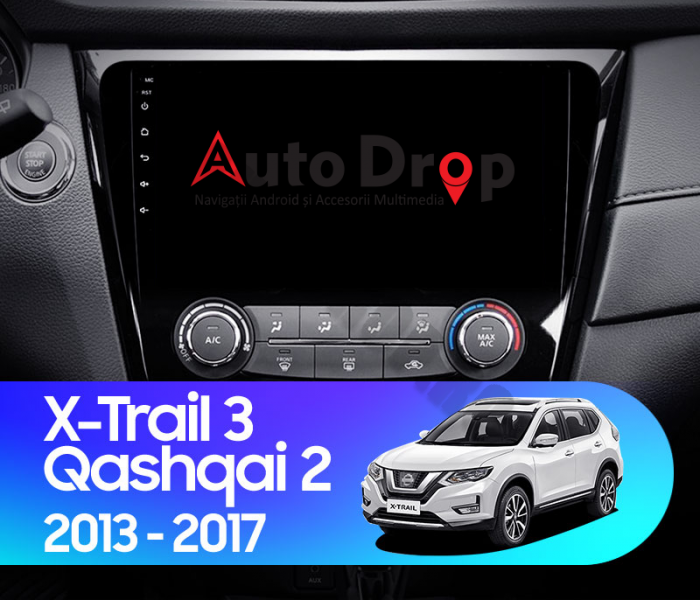 Navigatie Android Nissan Qashqai / X-trail   AutoDrop.ro [16]