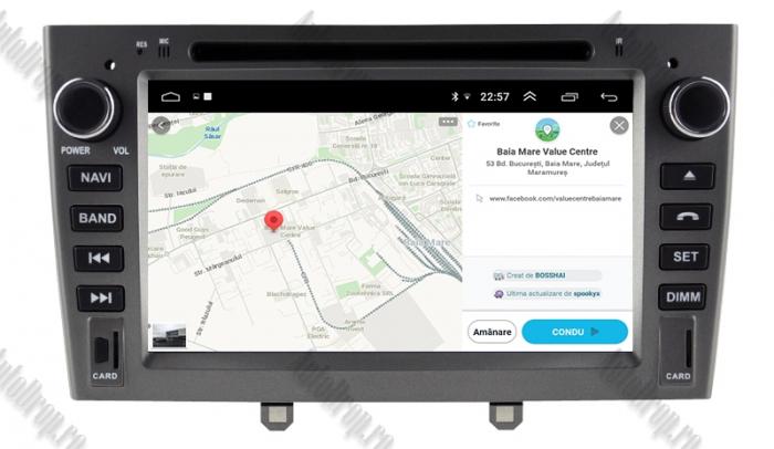 Navigatie Dedicata Peugeot 308 - 408 - Octacore 4+64GB 13
