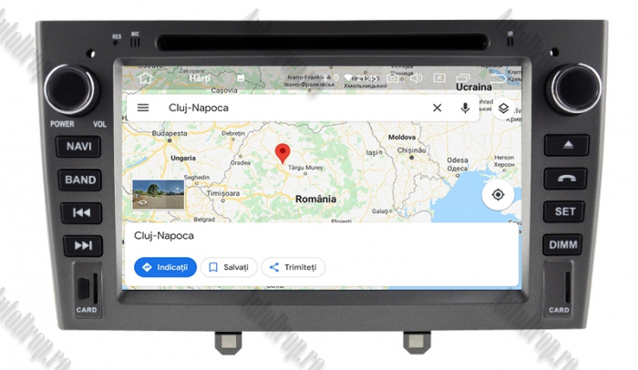 Navigatie Dedicata Peugeot 308 - 408 - Octacore 4+64GB 14
