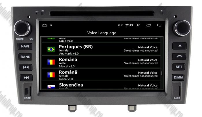 Navigatie Dedicata Peugeot 308 - 408 - Octacore 4+64GB 11