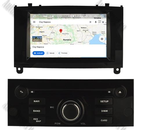 Navigatie Dedicata Android Peugeot 407 4+64GB Negru 14