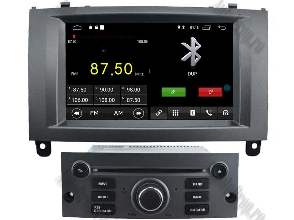 Navigatie Dedicata Peugeot 407 cu Android - AutoDrop.ro 3