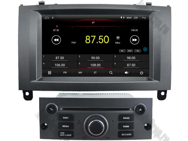 Navigatie Dedicata Peugeot 407 cu Android - AutoDrop.ro 1