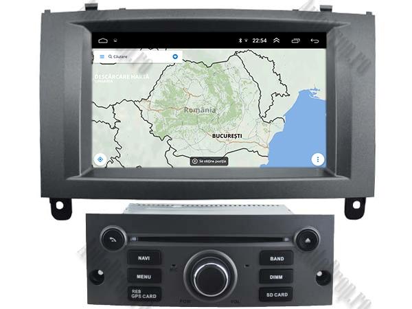 Navigatie Dedicata Peugeot 407 cu Android - AutoDrop.ro 10