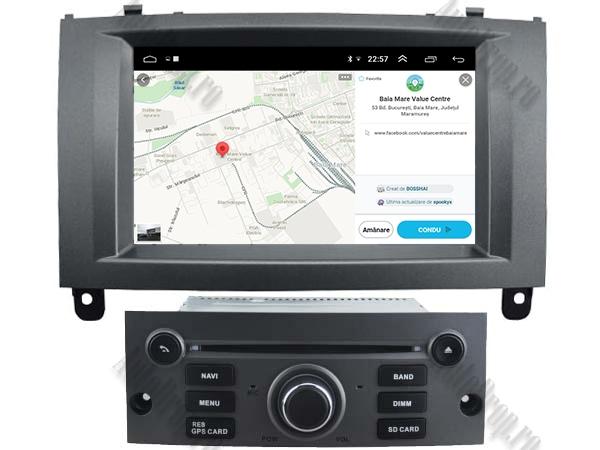 Navigatie Dedicata Peugeot 407 cu Android - AutoDrop.ro 7