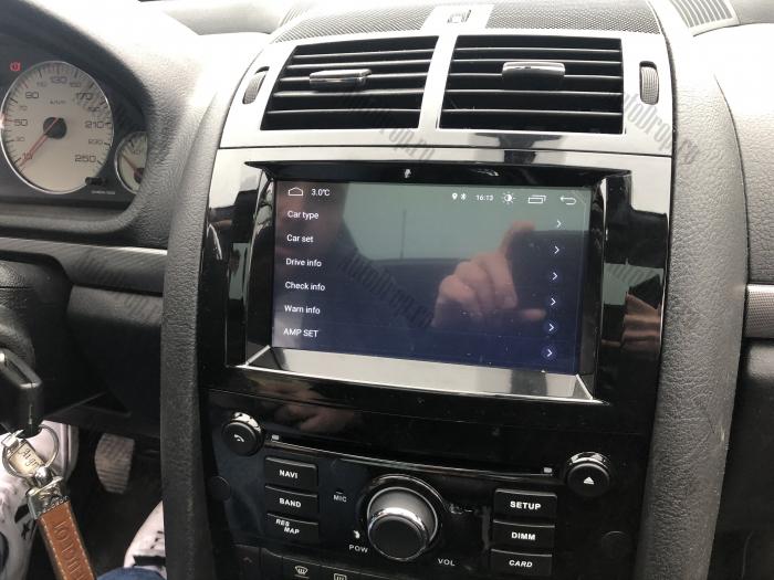 Navigatie Dedicata Peugeot 407 cu Android | Negru Lucios 19