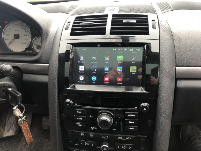 Navigatie Dedicata Peugeot 407 cu Android | Negru Lucios 18