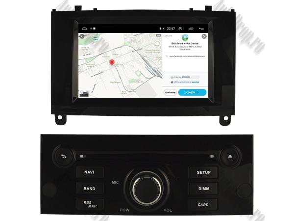 Navigatie Dedicata Peugeot 407 cu Android | Negru Lucios 8