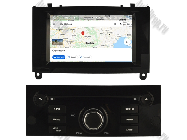 Navigatie Dedicata Peugeot 407 cu Android | Negru Lucios 9