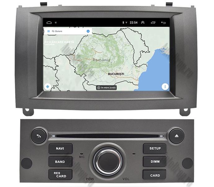 Navigatie Dedicata Peugeot 407 Gri 4+64GB | AutoDrop.ro 12