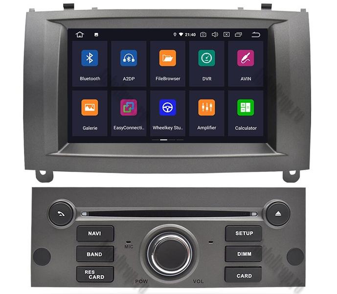 Navigatie Dedicata Peugeot 407 Gri 4+64GB | AutoDrop.ro 2