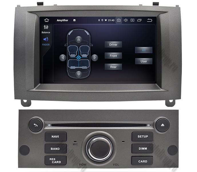 Navigatie Dedicata Peugeot 407 Gri 4+64GB | AutoDrop.ro 6