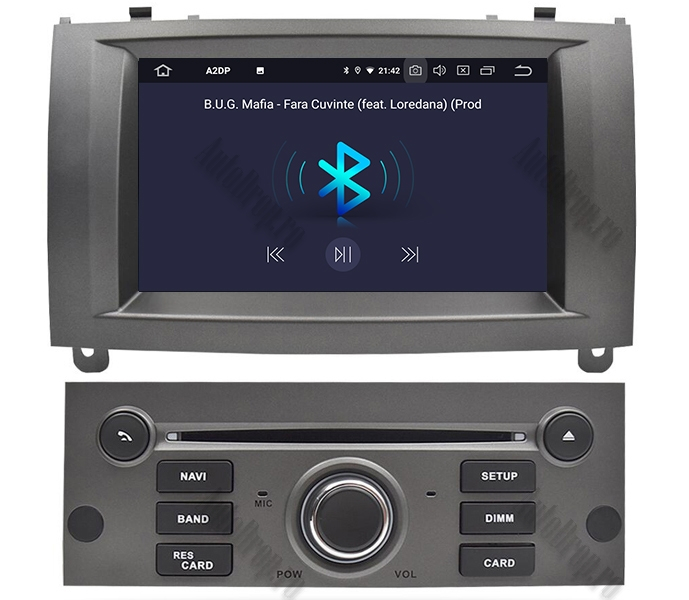 Navigatie Dedicata Peugeot 407 Gri 4+64GB | AutoDrop.ro 4
