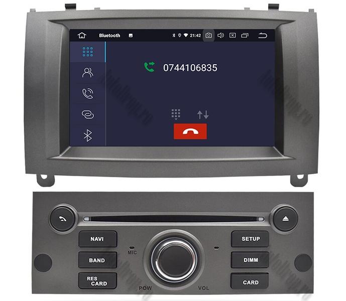 Navigatie Dedicata Peugeot 407 Gri 4+64GB | AutoDrop.ro 5