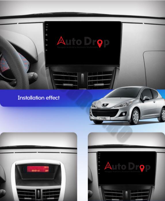 Navigatie Android Peugeot 207 2006-2015 | AutoDrop.ro [14]
