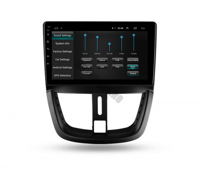 Navigatie Android Peugeot 207 2006-2015 | AutoDrop.ro [5]