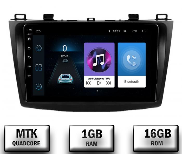 Navigatie Android Mazda 3 2009-2013   AutoDrop.ro [0]