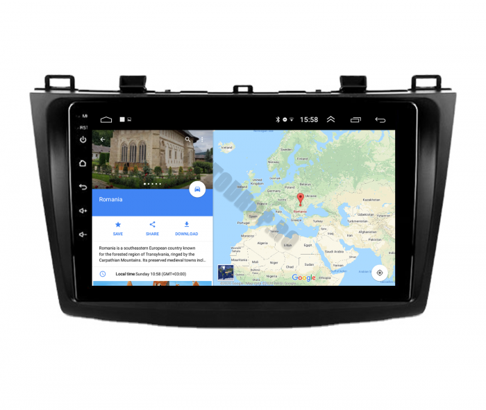Navigatie Android Mazda 3 2009-2013 2+32GB | AutoDrop.ro [11]