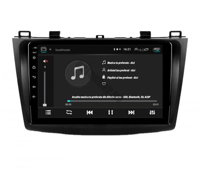 Navigatie Android Mazda 3 2009-2013 2+32GB | AutoDrop.ro [5]