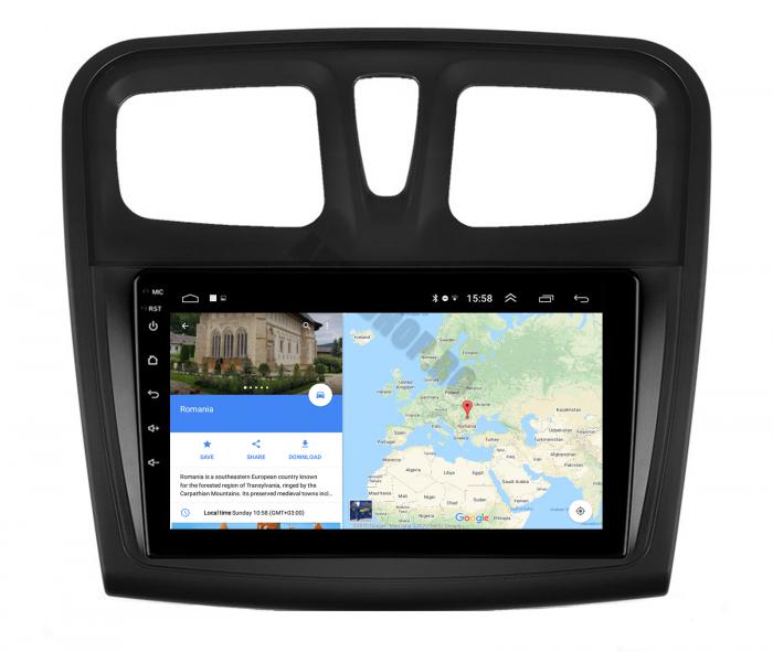 Navigatie Android Dacia Sandero 2GB   AutoDrop.ro [13]
