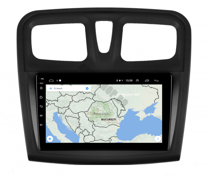 Navigatie Android Dacia Sandero   AutoDrop.ro [10]