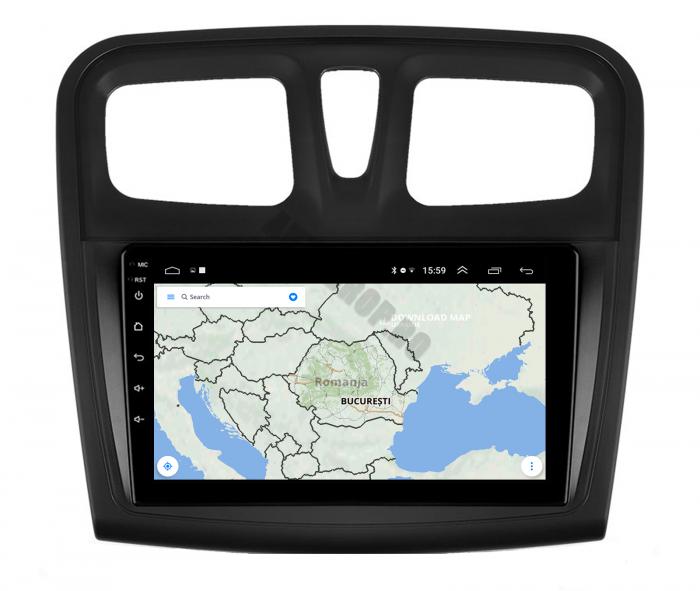 Navigatie Android Dacia Sandero 2GB   AutoDrop.ro [12]
