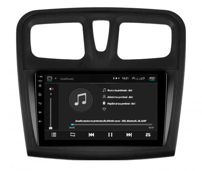 Navigatie Android Dacia Sandero 2GB   AutoDrop.ro [5]