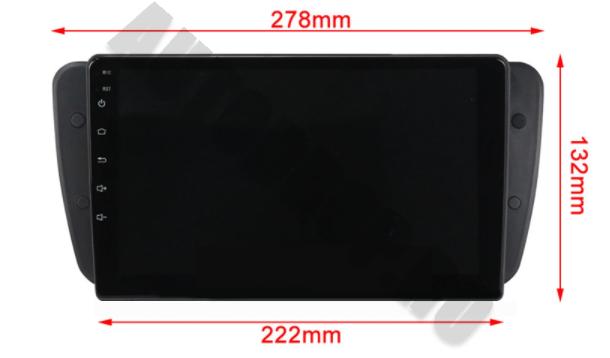 Navigatie Android 10 Seat Ibiza PX6   AutoDrop.ro [17]
