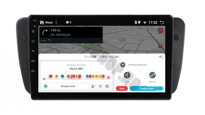 Navigatie Android 10 Seat Ibiza PX6   AutoDrop.ro [11]
