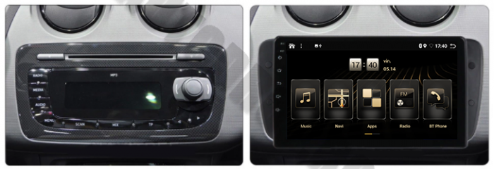 Navigatie Android 10 Seat Ibiza PX6   AutoDrop.ro [19]