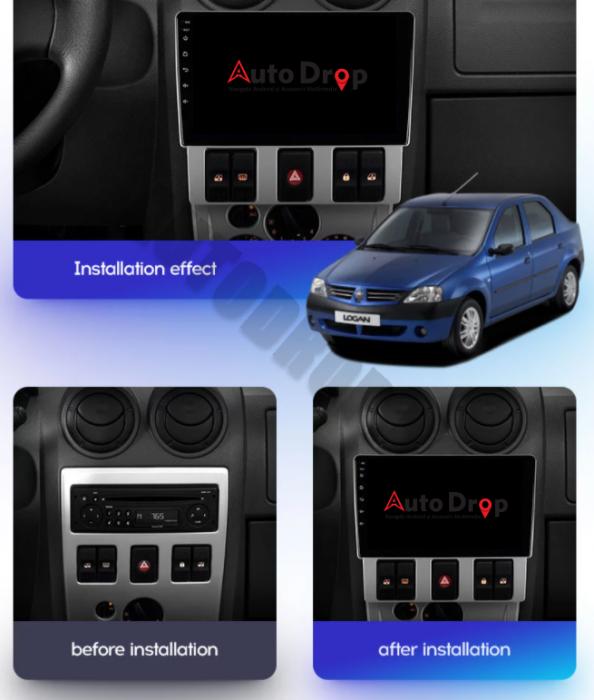 Navigatie Android 10 Dacia Logan PH1   AutoDrop.ro [18]