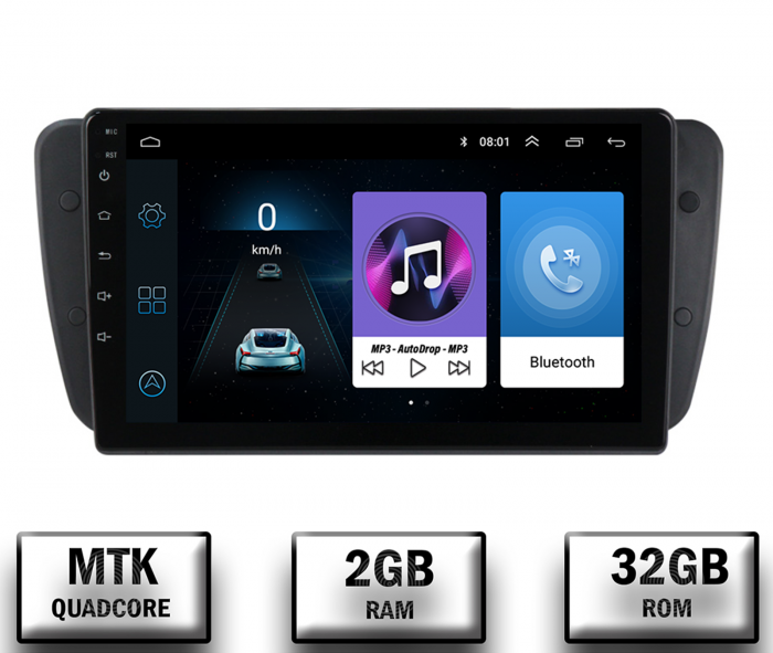 Navigatie Seat Ibiza 2009-2013 2+32GB | AutoDrop.ro 0