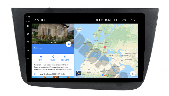 Navigatie Dedicata Seat Altea 1+16GB | AutoDrop.ro 11
