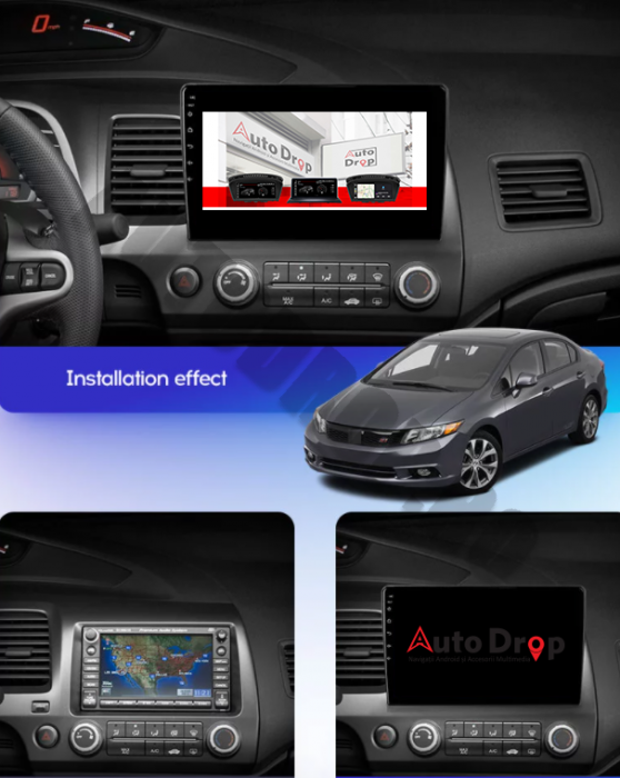 Navigatie Dedicata Honda Civic 2+32GB | AutoDrop.ro 22
