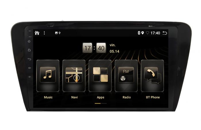 Navigatie Android 10 Skoda Octavia 3 PX6   AutoDrop.ro [2]