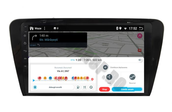 Navigatie Android 10 Skoda Octavia 3 PX6   AutoDrop.ro [12]