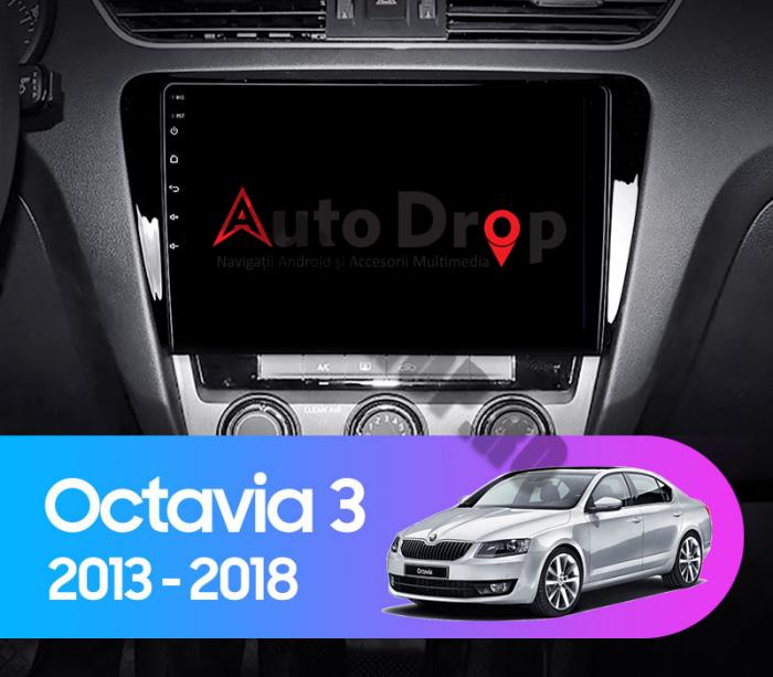 Navigatie Android 10 Skoda Octavia 3 PX6   AutoDrop.ro [17]