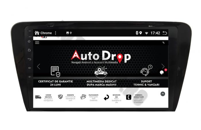 Navigatie Android 10 Skoda Octavia 3 PX6   AutoDrop.ro [11]